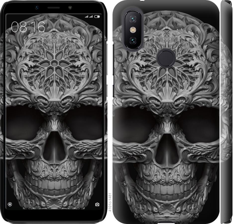 Чехол на Xiaomi Mi A2 skull-ornament