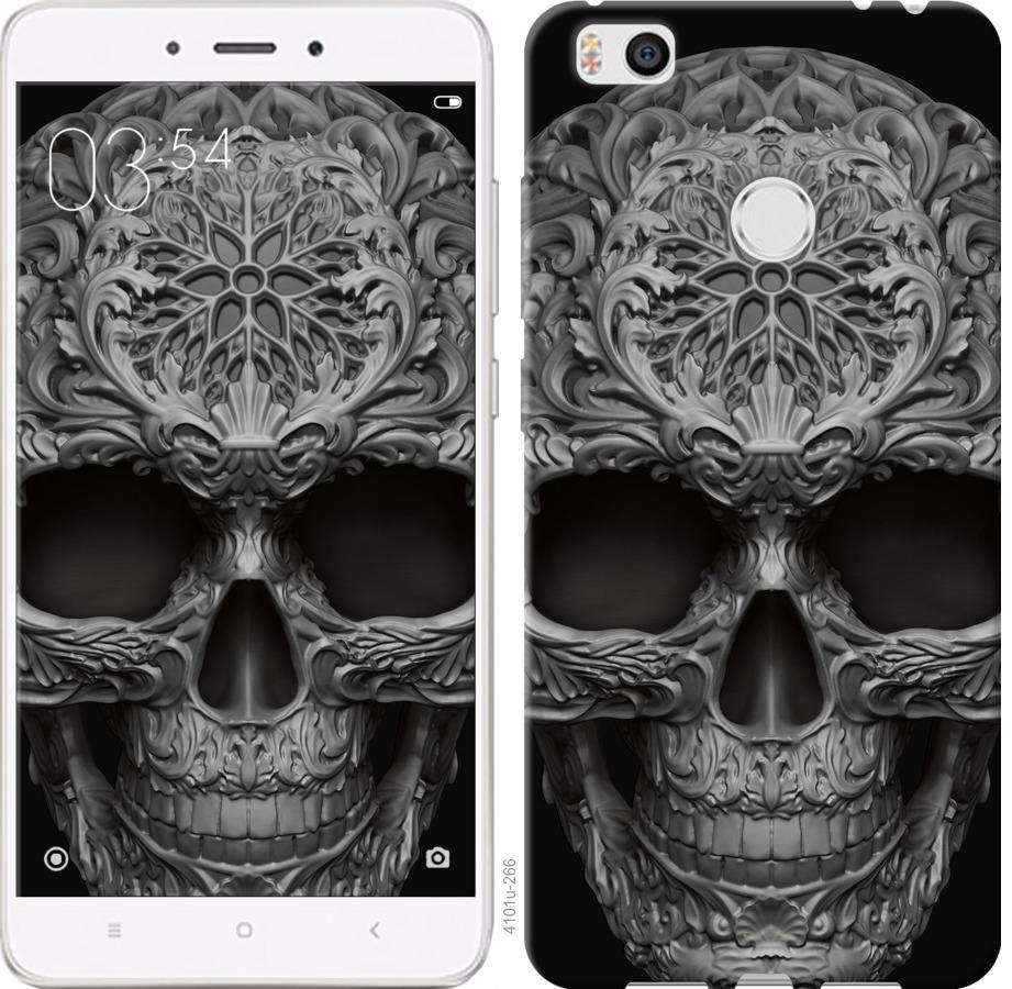Чехол на Xiaomi Mi4s skull-ornament