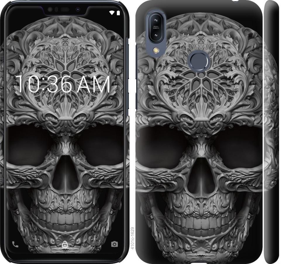 Чехол на Asus Zenfone Max M2 ZB633KL skull-ornament