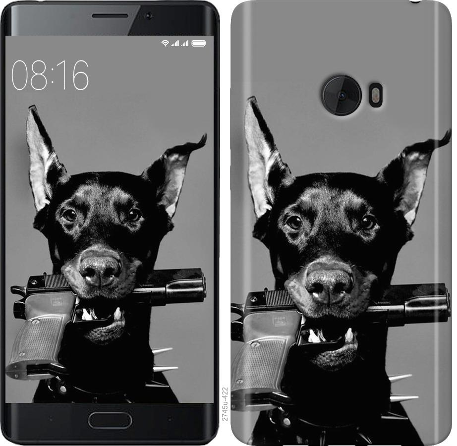 Чехол на Xiaomi Mi Note 2 Доберман