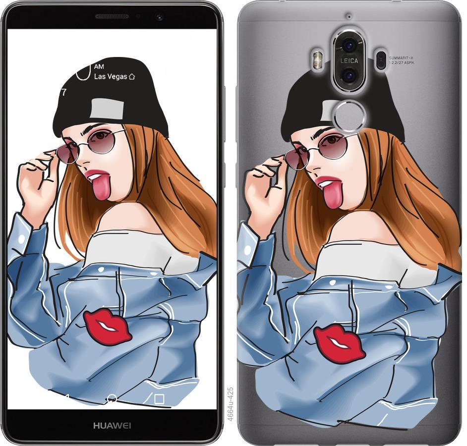 Чохол на Huawei Mate 9 Дівчина v3