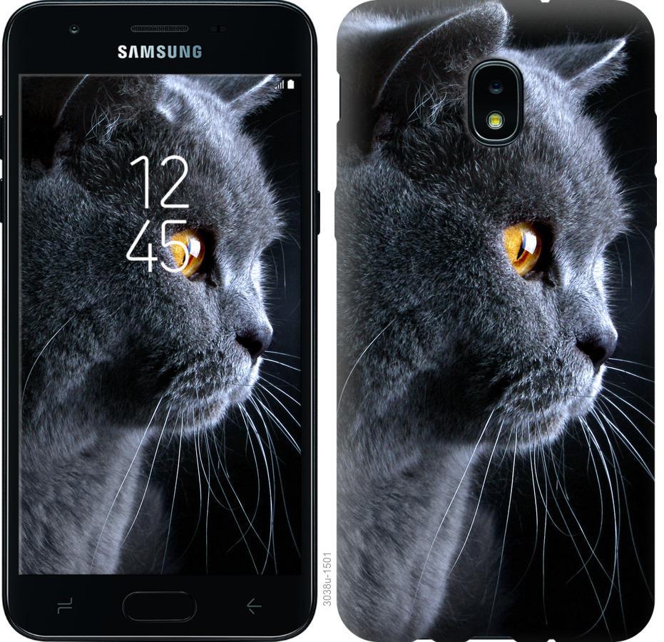 Чохол на Samsung Galaxy J3 2018 Гарний кіт
