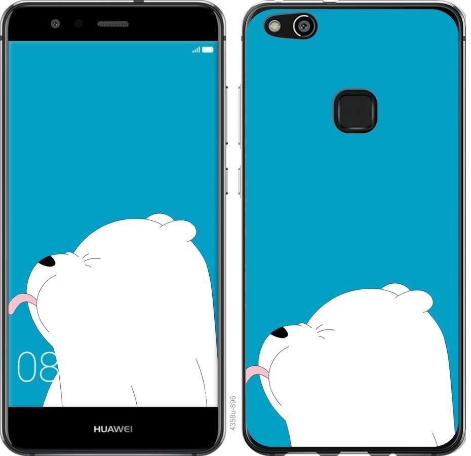 Чехол на Huawei P10 Lite Мишка 1