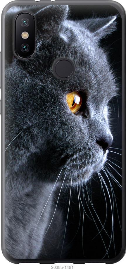Чехол на Xiaomi Mi Mix 3 Красивый кот