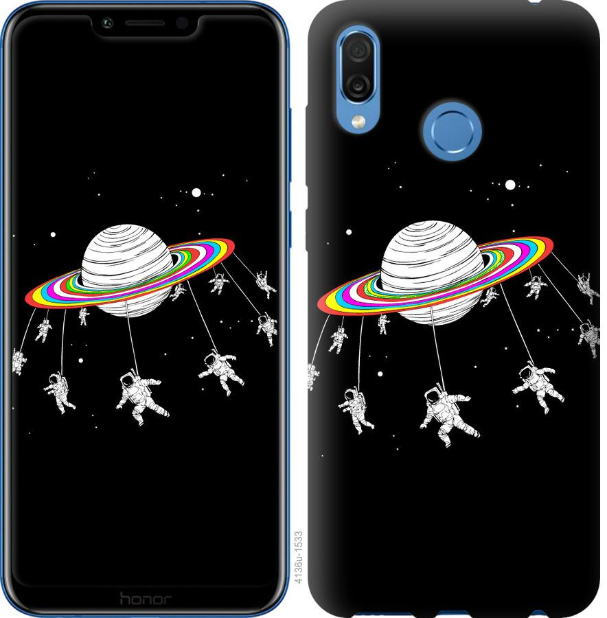 Чехол на Huawei Honor Play Лунная карусель