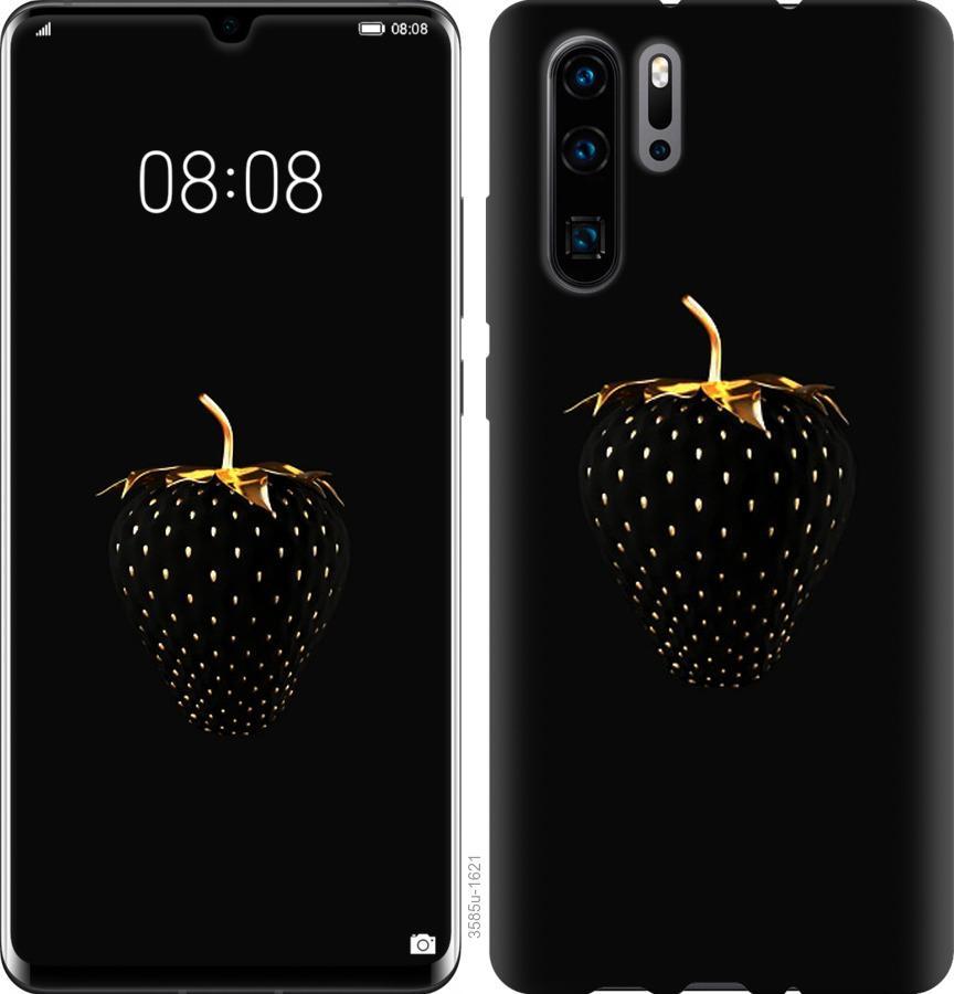 Чехол на Huawei Nova 6SE Черная клубника