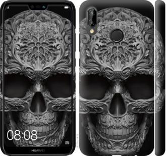 Чехол на Huawei P20 Lite skull-ornament