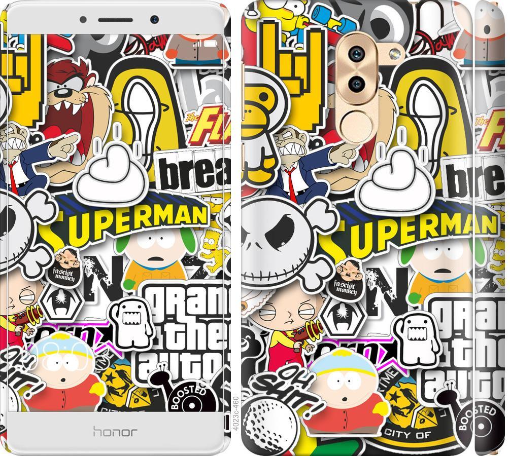 Чехол на Huawei Mate 9 Lite Popular logos