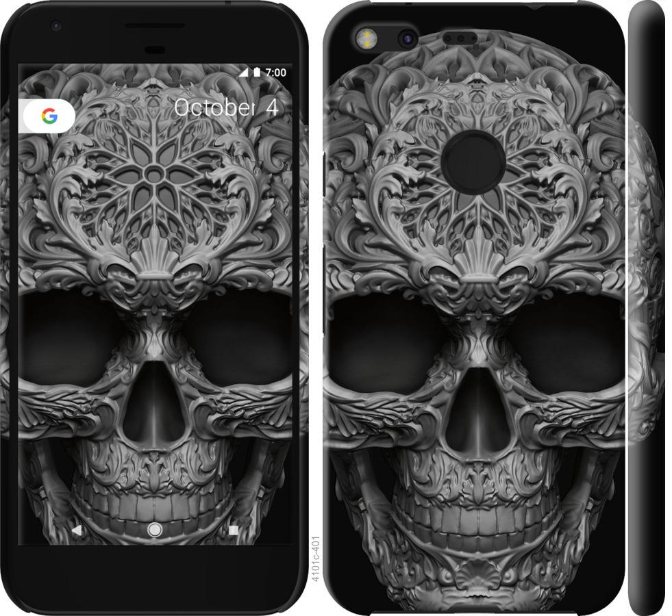Чехол на Google Pixel XL skull-ornament