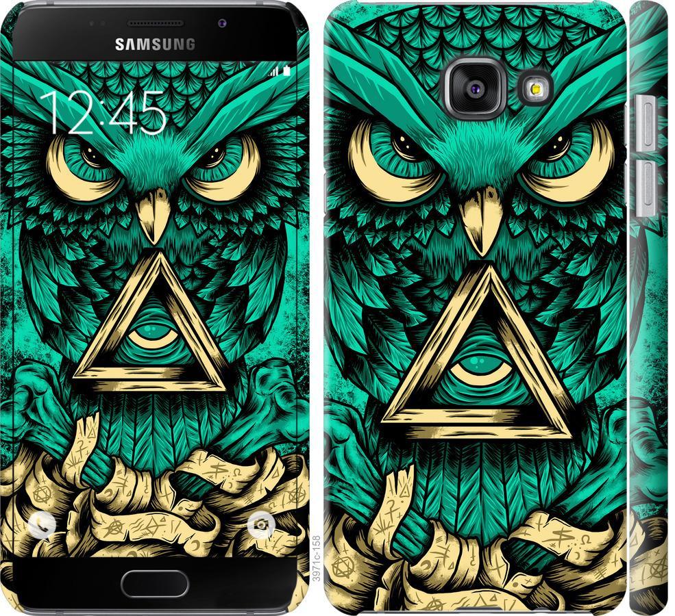 Чехол на Samsung Galaxy A5 (2016) A510F Сова Арт-тату