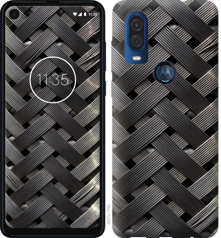 Чехол на Motorola One Vision Металлические фоны