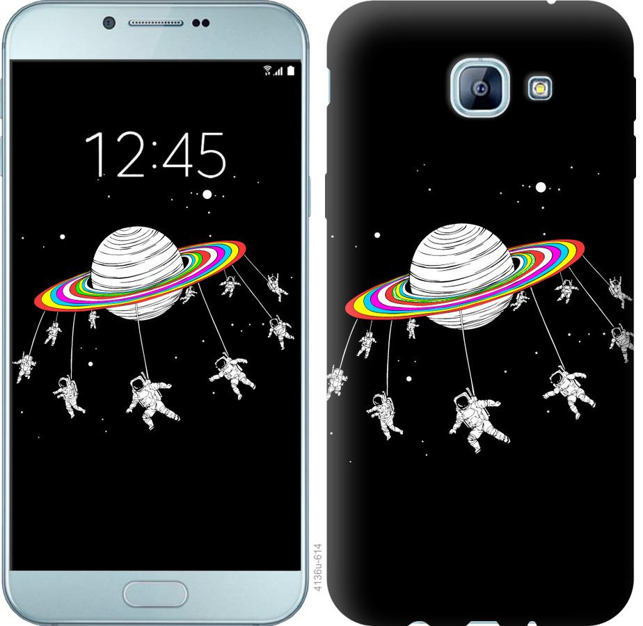 Чехол на Samsung Galaxy A8 (2016) A810 Лунная карусель