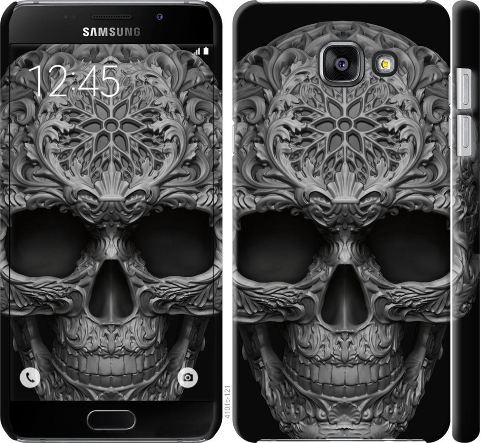 Чехол на Samsung Galaxy A7 (2016) A710F skull-ornament