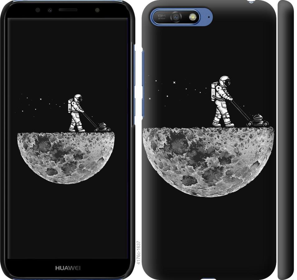 Чехол на Huawei Y6 2018 Moon in dark