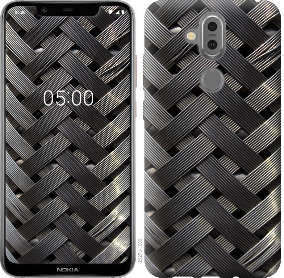 Чехол на Nokia 8.1 Металлические фоны