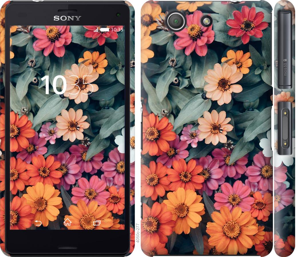 Чохол на Sony Xperia Z3 Compact D5803 Beauty flowers