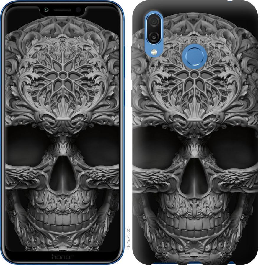Чехол на Huawei Honor Play skull-ornament