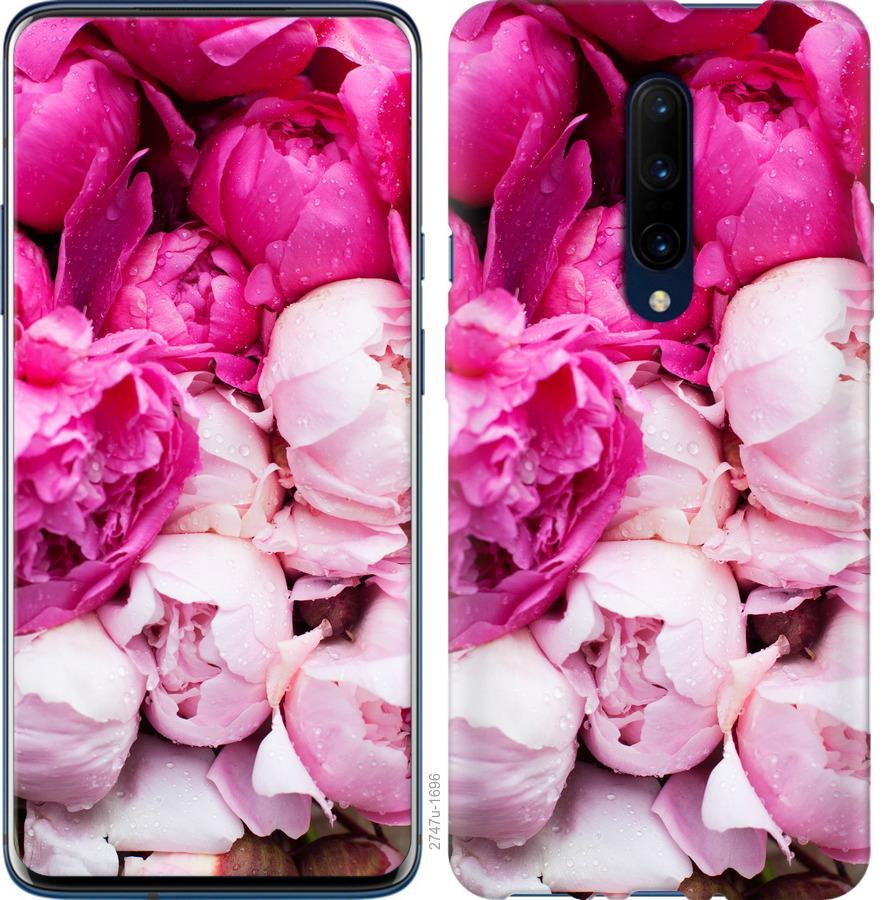 Чехол на OnePlus 7 Pro Розовые пионы