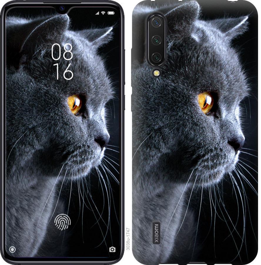Чехол на Xiaomi Mi 9 Lite Красивый кот