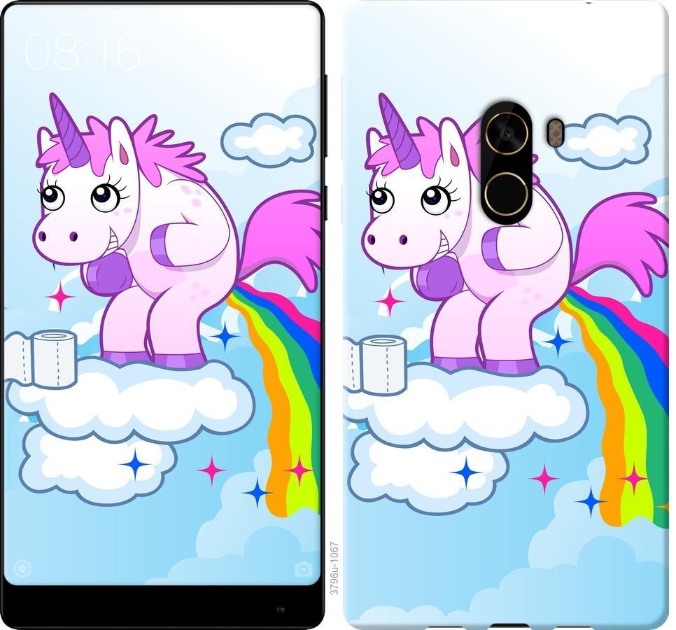Чехол на Xiaomi Mi MiX 2 Единорожка
