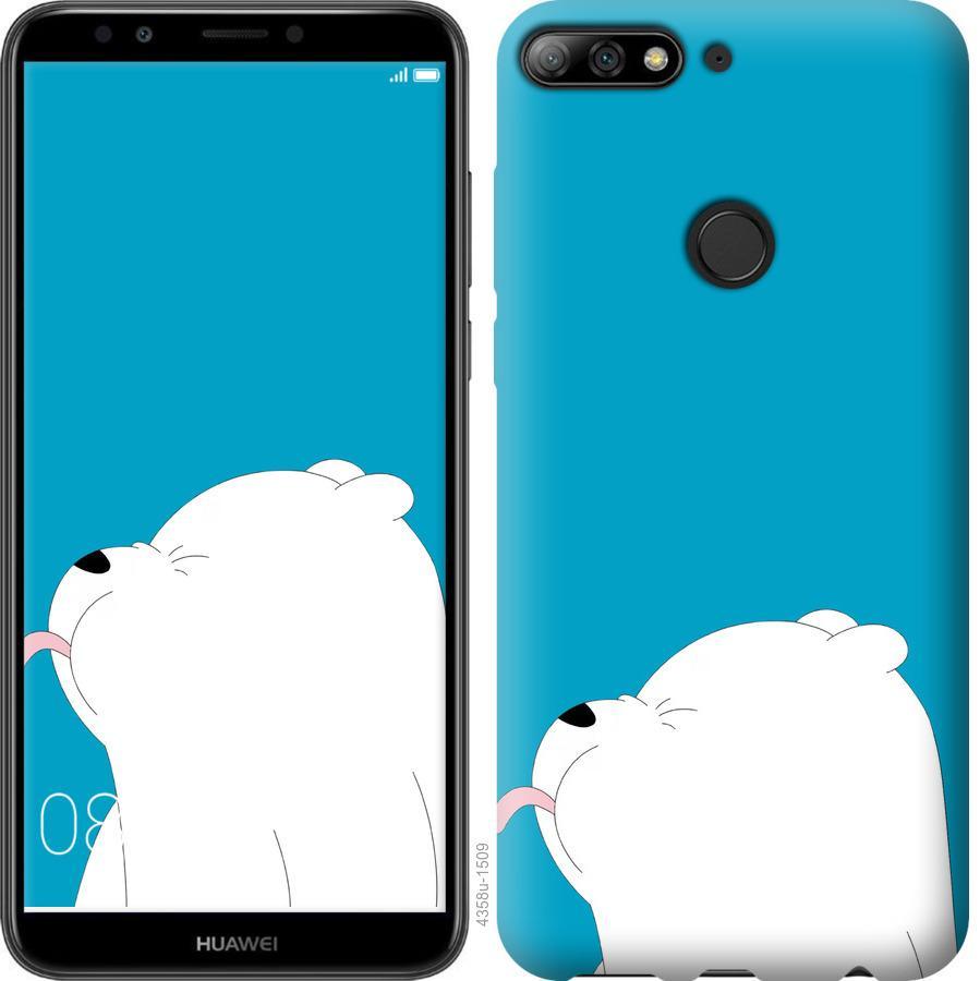 Чехол на Huawei Honor 7C Мишка 1