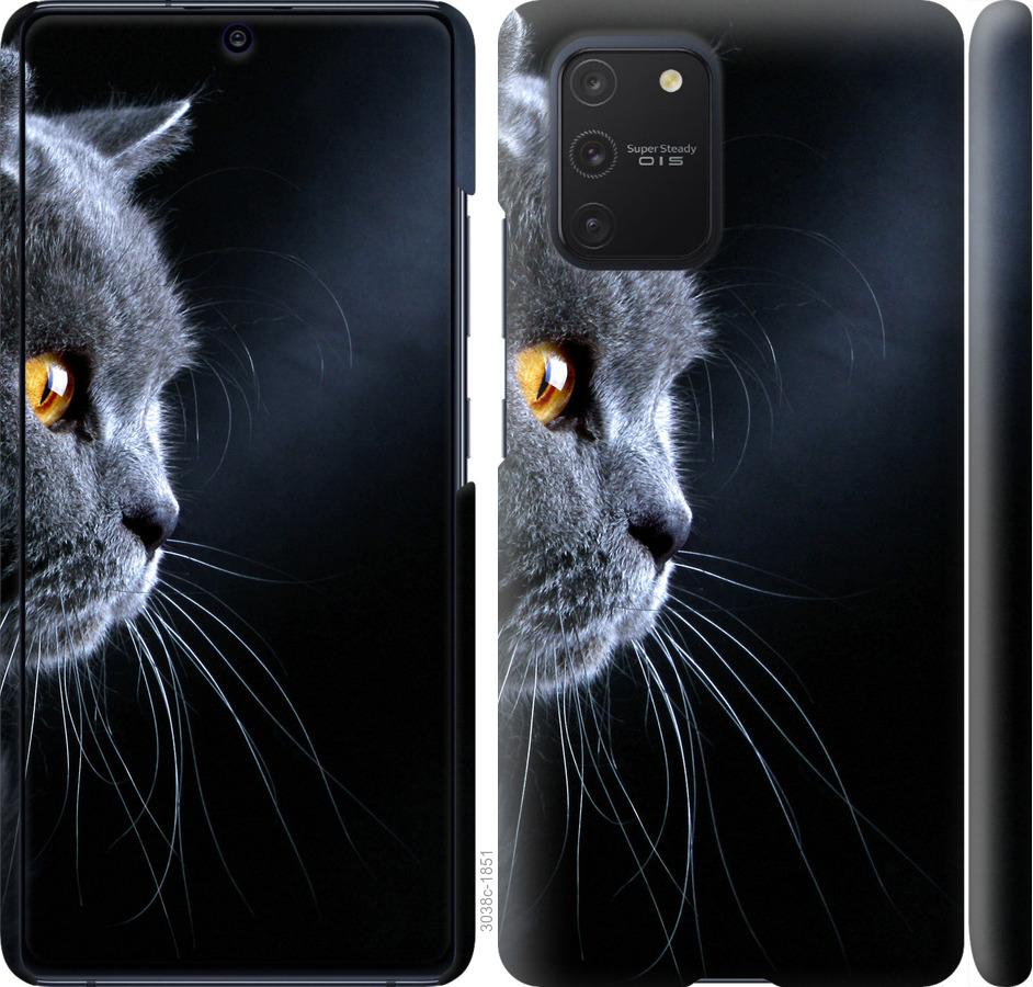 Чехол на Samsung Galaxy S10 Lite 2020 Красивый кот