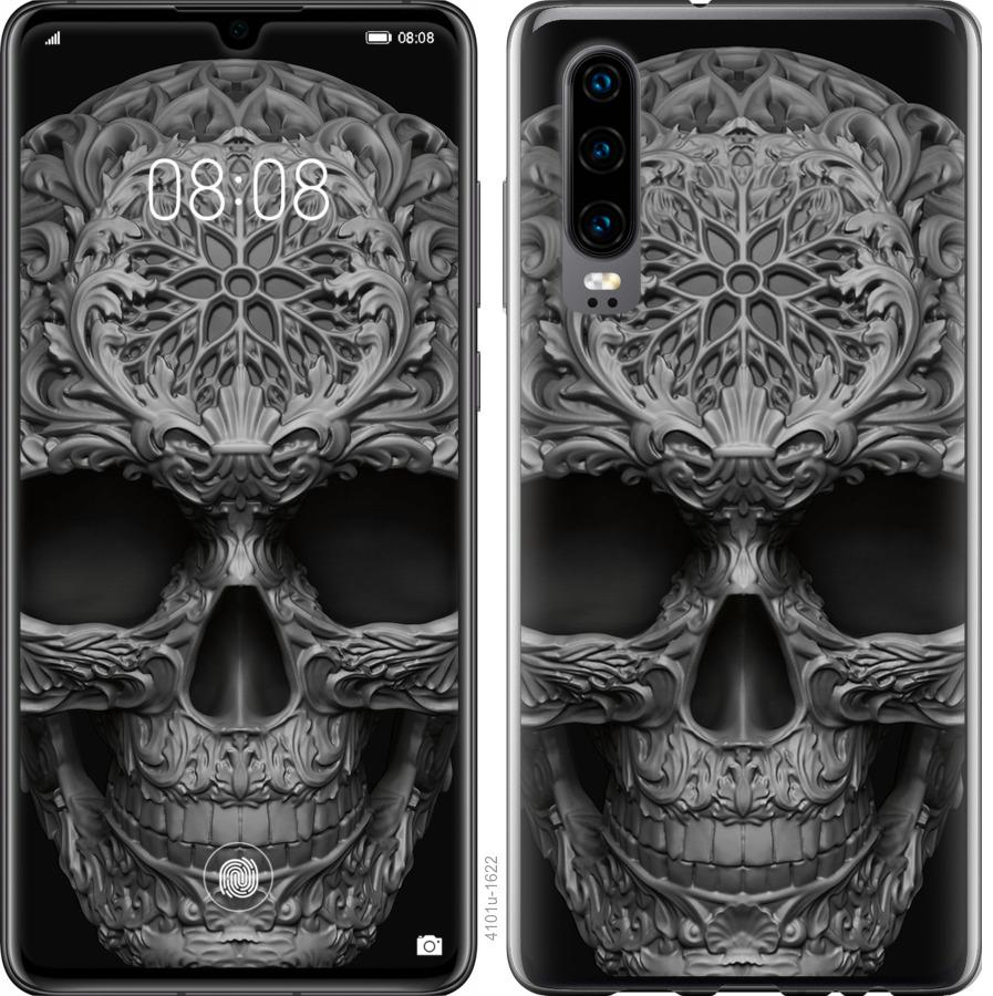 Чехол на Oppo Find X2 skull-ornament