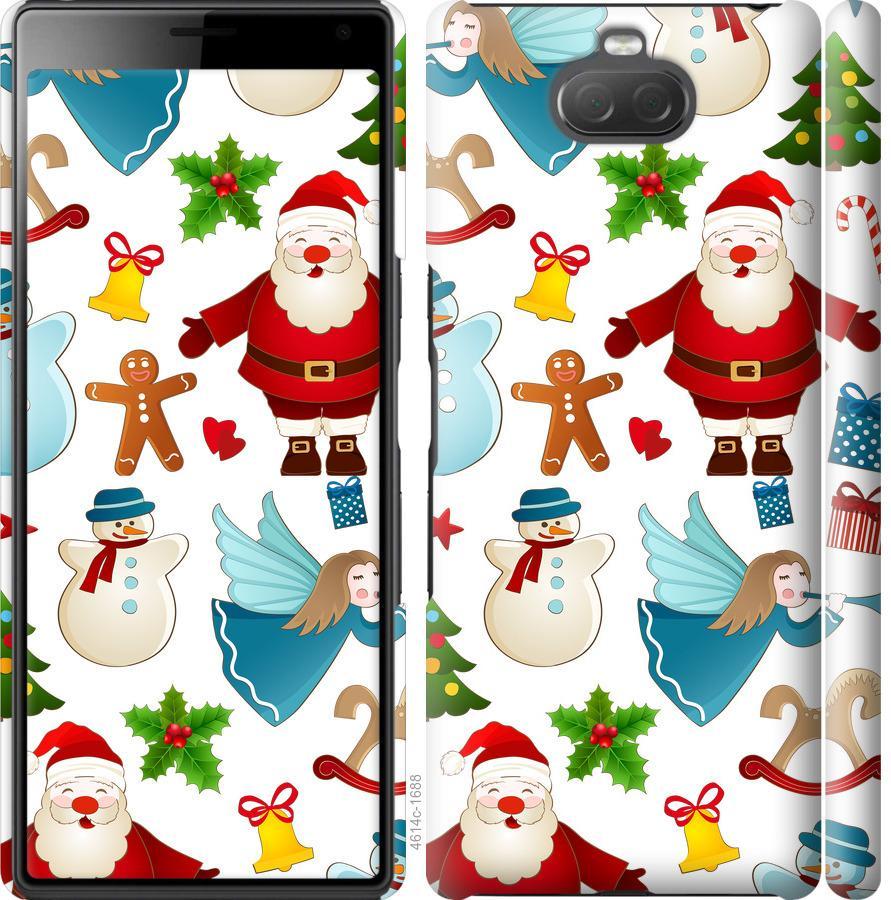 Чехол на Sony Xperia 10 I4113 Новогодний 1