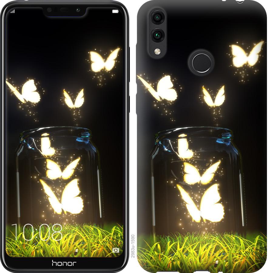 Чехол на Huawei Honor 8C Бабочки