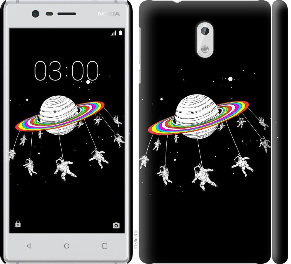 Чехол на Nokia 3 Лунная карусель
