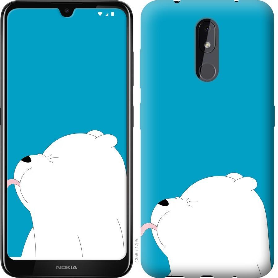 Чехол на Nokia 3.2 Мишка 1