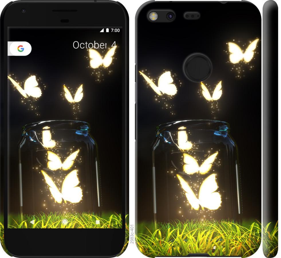 Чехол на Google Pixel XL Бабочки