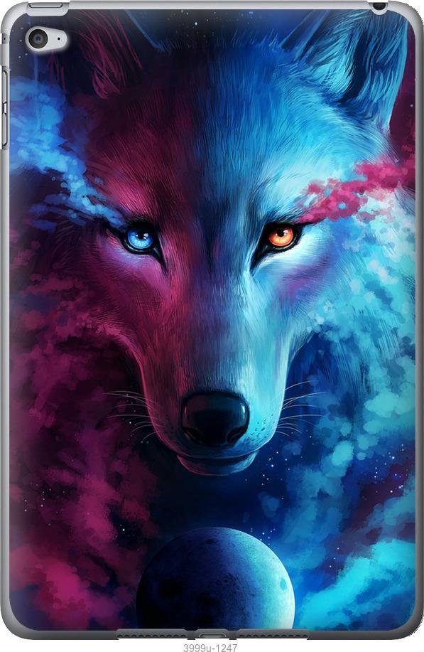 Чехол на iPad mini 4 Арт-волк
