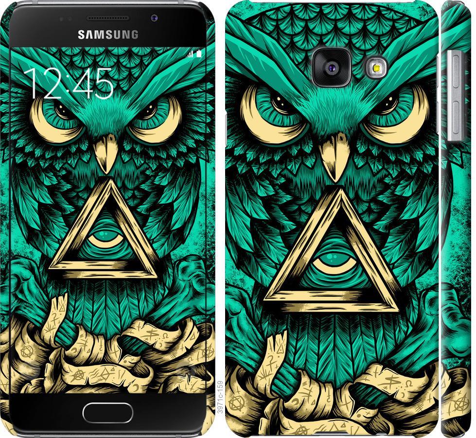 Чехол на Samsung Galaxy A3 (2016) A310F Сова Арт-тату