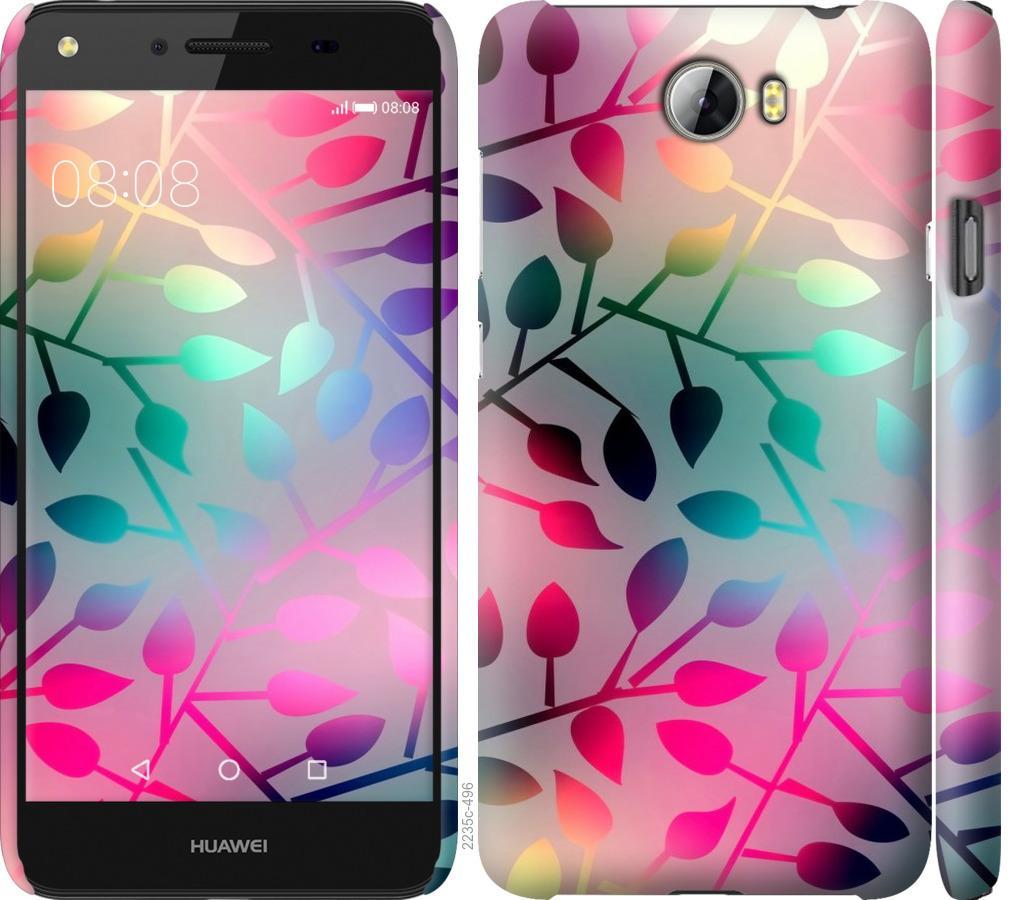 Чехол на Huawei Y5 II Листья