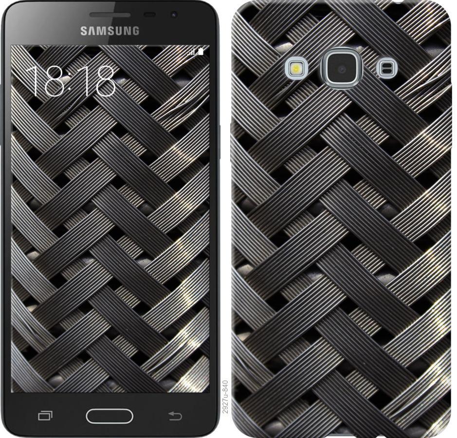 Чехол на Samsung Galaxy J3 Pro Металлические фоны