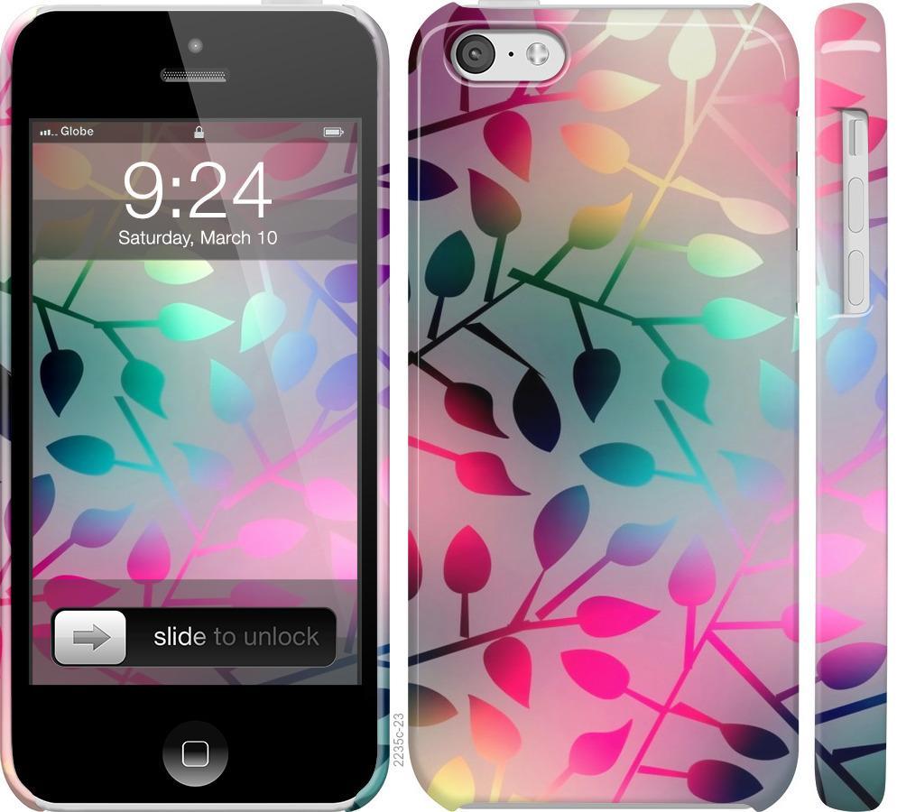 Чехол на iPhone 5c Листья