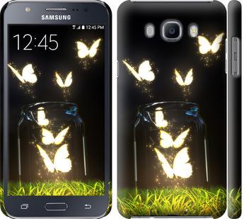 Чехол на Samsung Galaxy J7 (2016) J710F Бабочки