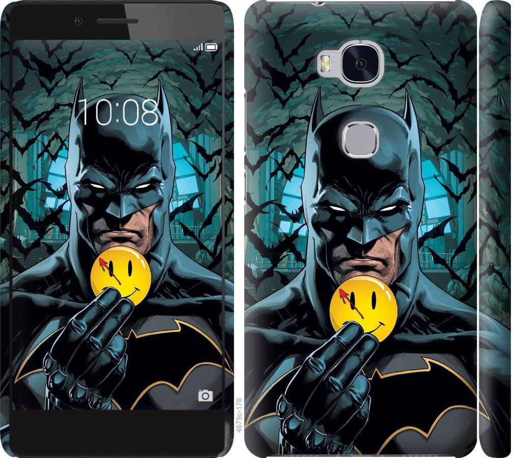 Чехол на Huawei Honor 5X Бэтмен 2