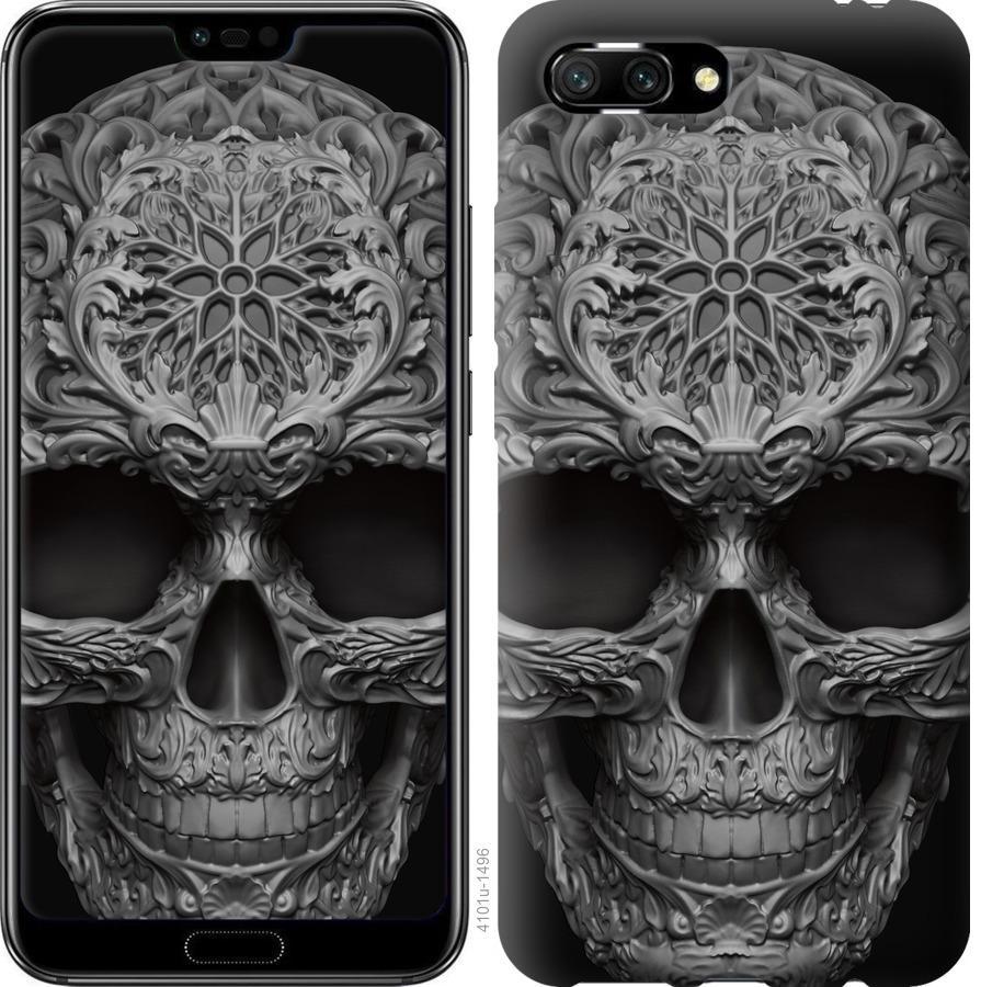 Чехол на Huawei Honor 10 skull-ornament