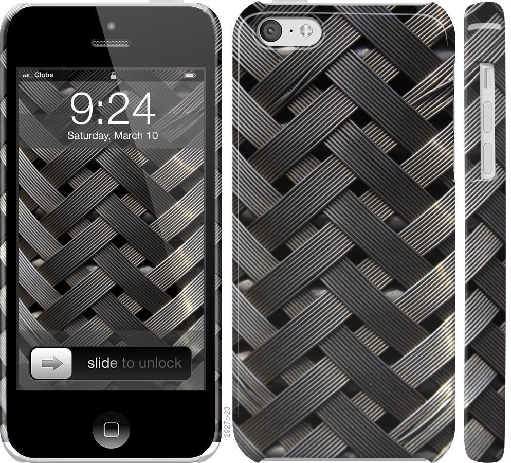 Чехол на iPhone 5c Металлические фоны