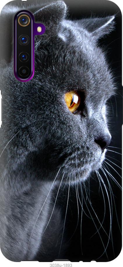 Чехол на OnePlus Nord Красивый кот