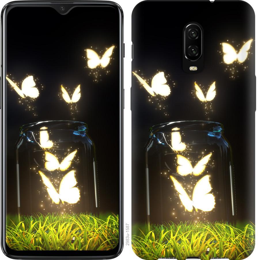 Чехол на OnePlus 6T Бабочки