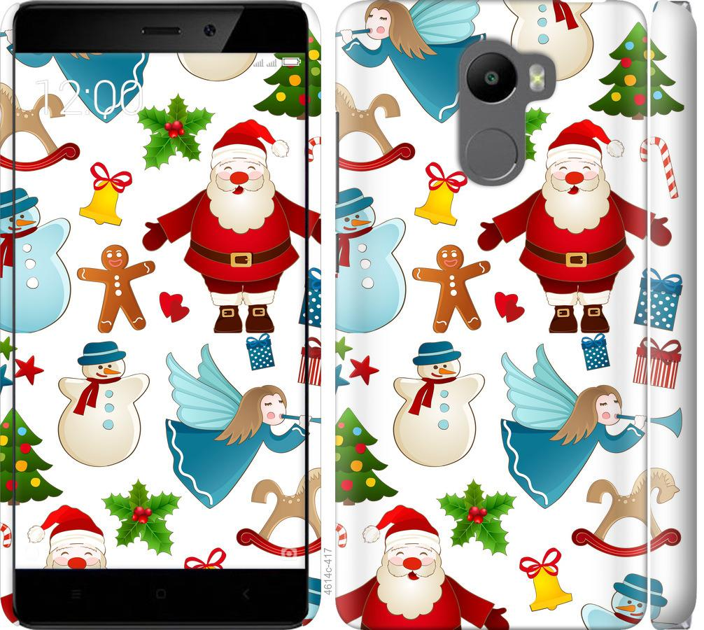 Чехол на Xiaomi Redmi 4 Новогодний 1