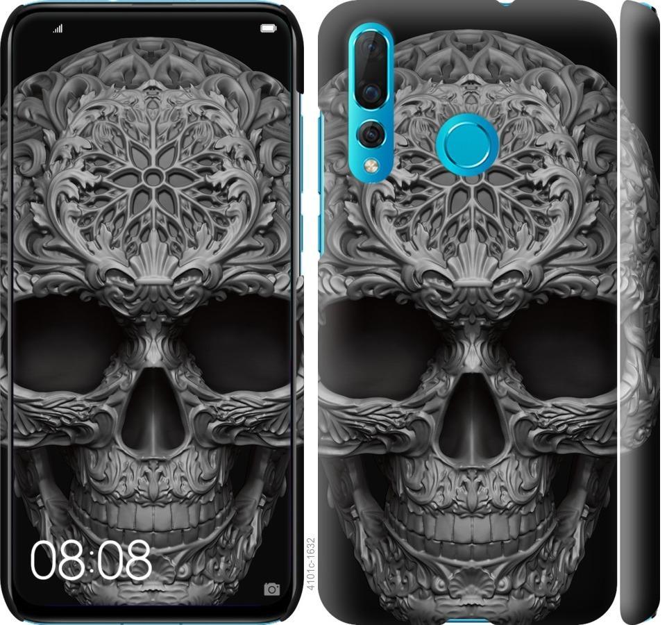 Чехол на Huawei Nova 4 skull-ornament