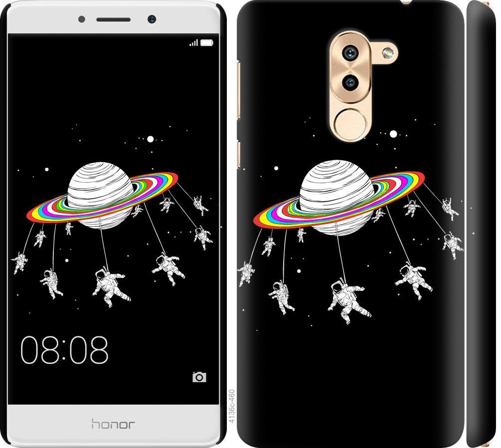 Чехол на Huawei Mate 9 Lite Лунная карусель