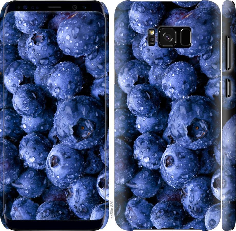 Чехол на Samsung Galaxy S8 Голубика