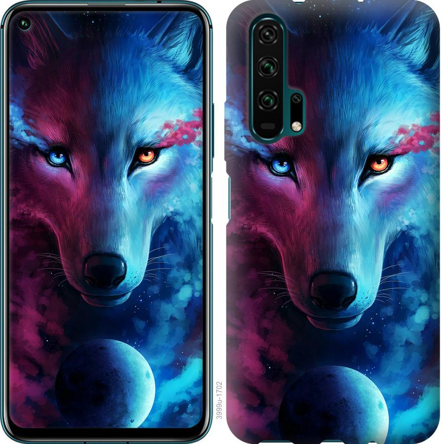 Чехол на Huawei Nova 6 Арт-волк