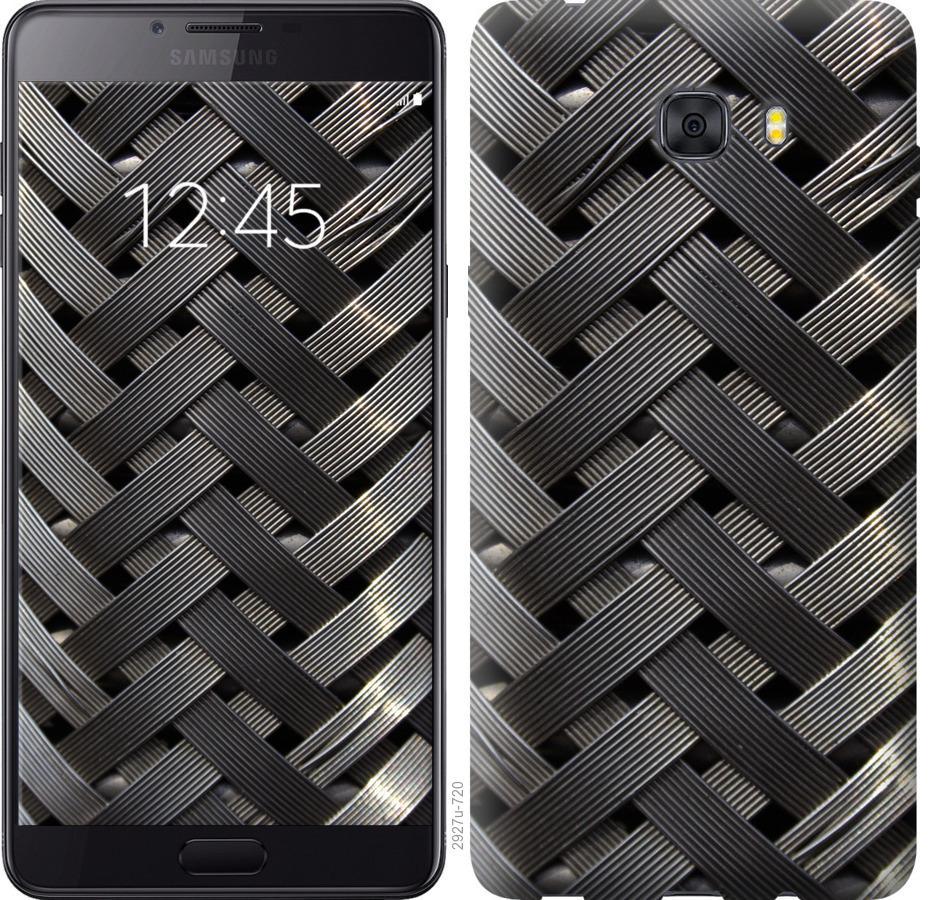 Чехол на Samsung Galaxy C9 Pro Металлические фоны