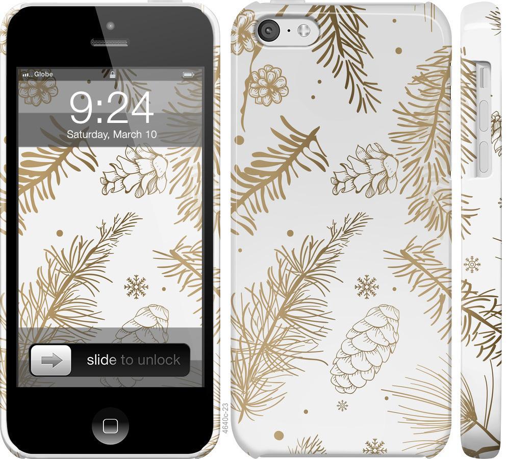 Чехол на iPhone 5c Зимний